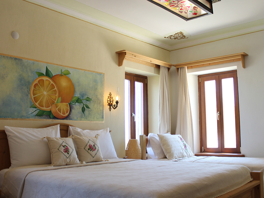 Eski Datca Hotel Orange Room