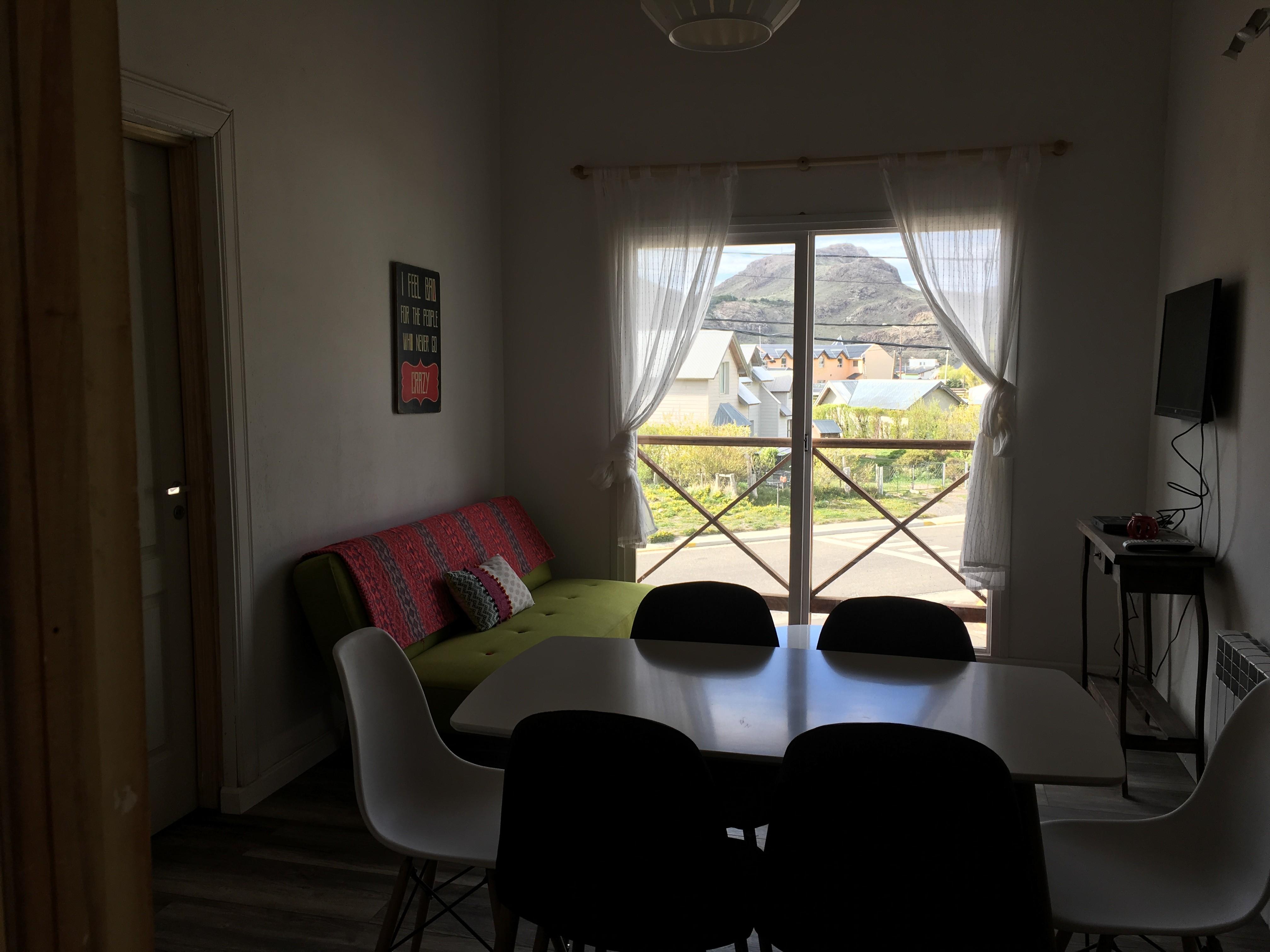 (AP 4.) Departamento para 4 personas, 2 dormitorios.